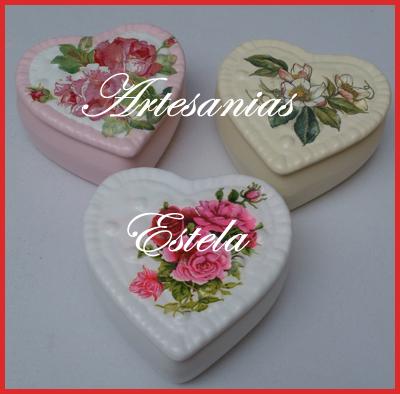 Regalos Para El Día De San Valentín   Carameleras De Cerámica Decoradas