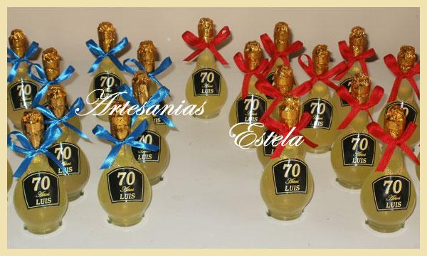 Souvenirs Botellitas De Licor Personalizadas