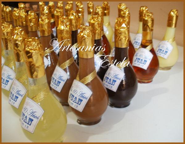 Souvenirs Botellitas De Licor Personalizada