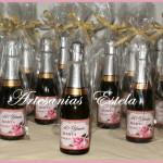 Souvenirs Cumpleaños Botellitas De Champagne Personalizadas 150x150   Souvenirs Para Cumpleaños Adultos