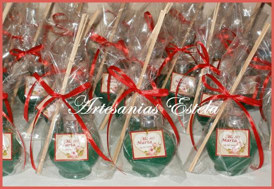 Souvenirs Cumpleaños Difusores Aromaticos Personalizados   Souvenirs Para Cumpleaños Adultos