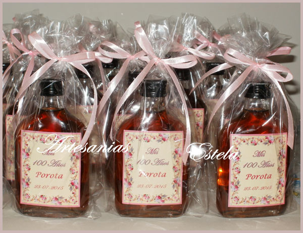 Souvenirs Petacas De Licor Personalizadas   Souvenirs Para Cumpleaños Adultos