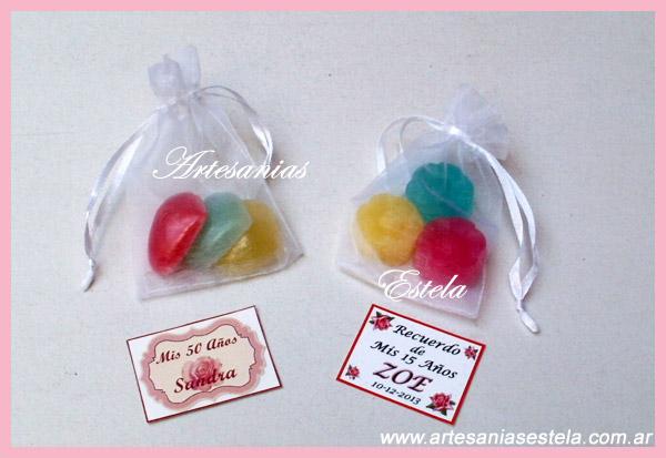 Souvenirs De 15 Años Jaboncitos Perfumados   Souvenirs De 15 Años