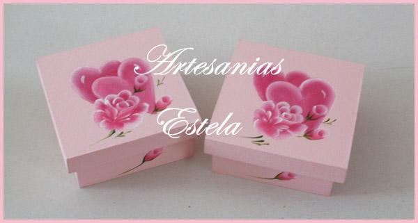 Cajas Pintadas Para El Dia De Los Enamorados   Regalos Para El Dia De Los Enamorados   San Valentin