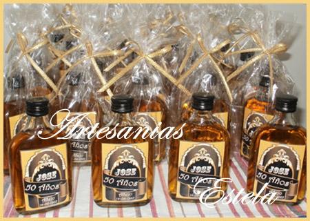 Souvenirs Botellitas De Whisky Personalizadas