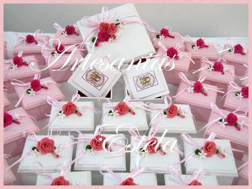 Cajas Decoradas Para Souvenirs Bodas   Souvenirs De Casamientos / Bodas
