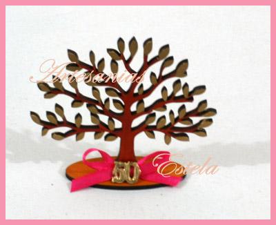 Souvenirs Arbolitos De La Vida De Madera   Souvenirs Para Cumpleaños Adultos