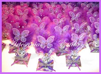 Souvenirs Mariposas 1   Souvenirs De 15 Años Con Mariposas
