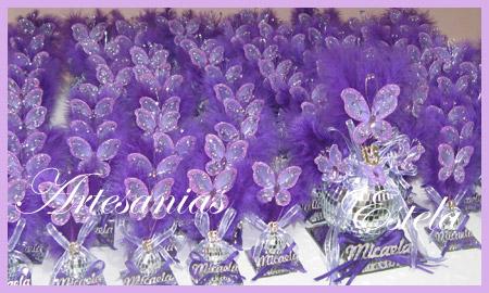 Souvenirs de 15 Años con Mariposas 6jpg   Souvenirs De 15 Años Con Mariposas