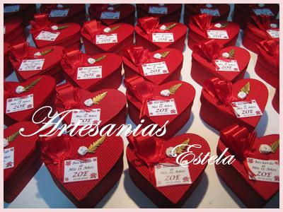 Souvenirs De 15 Años Cajitas Corazon De Carton. 22   Souvenirs De 15 Años   Cajas Corazon De Carton