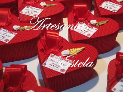Souvenirs De 15 Años Cajitas Corazon De Carton. 32   Souvenirs De 15 Años   Cajas Corazon De Carton