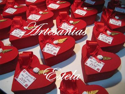 Souvenirs De 15 Años Cajitas Corazon De Carton. 42   Souvenirs De 15 Años   Cajas Corazon De Carton