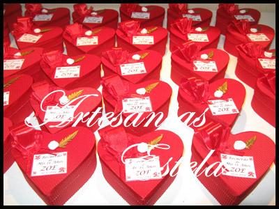 Souvenirs De 15 Años Cajitas Corazon De Carton1   Souvenirs De 15 Años   Cajas Corazon De Carton