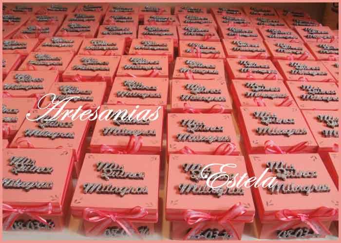 Souvenirs De 15 Años Cajitas Personalizadas   Souvenirs De 15 Años