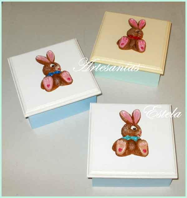 Cajas Para Bombones Pascuas Infantiles