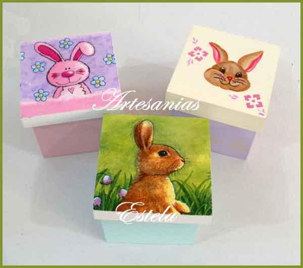 Cajitas Para Huevos De Pascuas Artesanales   Cajas Para Bombones y Huevos De Pascuas
