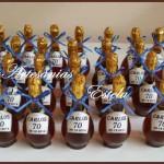 Souvenirs 70 Años 150x150   Souvenirs  70 Años   Botellitas De Licor Personalizadas