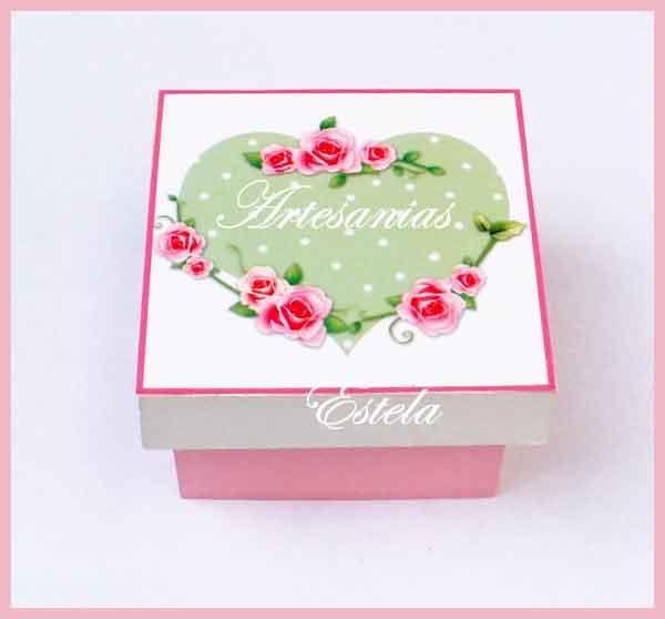 Souvenirs Cajitas De Madera