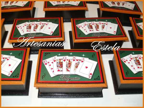 Souvenirs Cajas Para Cartas Naipes   Souvenirs Cajas Para Cartas   Naipes