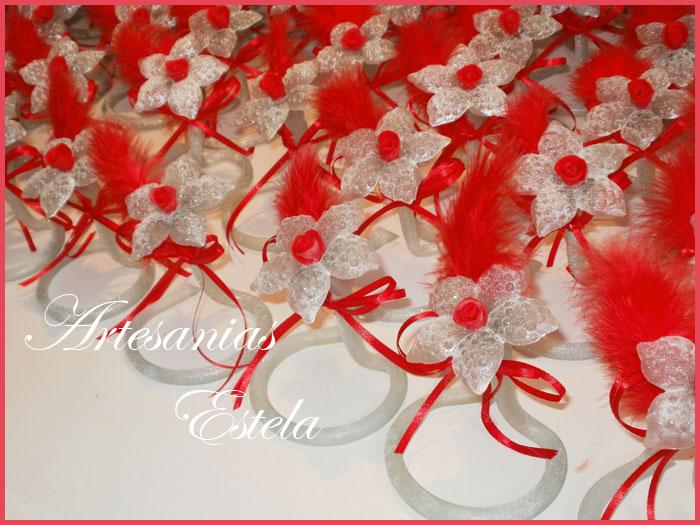 Souvenirs 15 Años Flores De Vidrio   Souvenirs De 15 Años