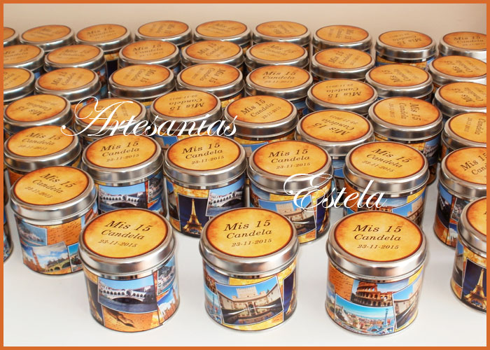 Souvenirs 15 Años Latitas Personalizadas   Souvenirs De 15 Años