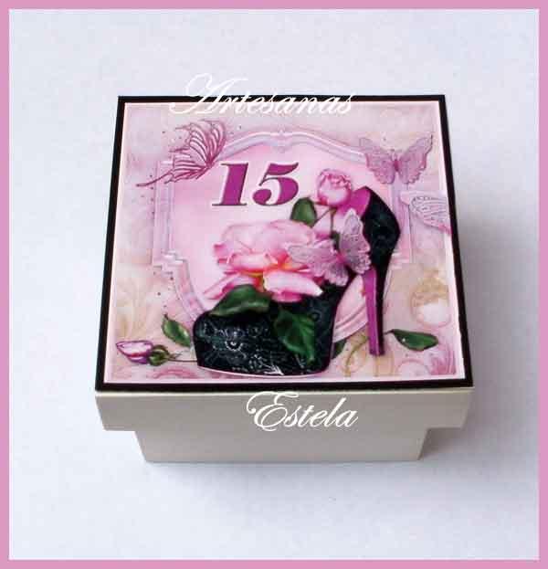 Souvenirs De 15 Años Cajitas 1   Souvenirs De 15 Años