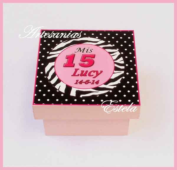 Souvenirs De 15 Años Cajitas 10   Souvenirs De 15 Años
