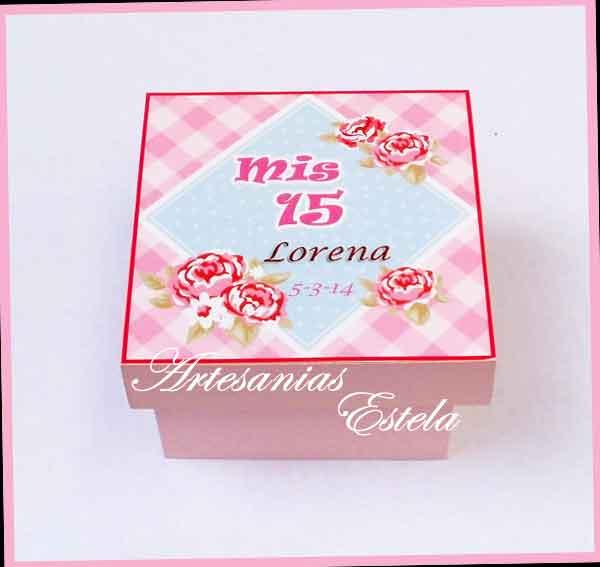 Souvenirs De 15 Años Cajitas 8   Souvenirs De 15 Años