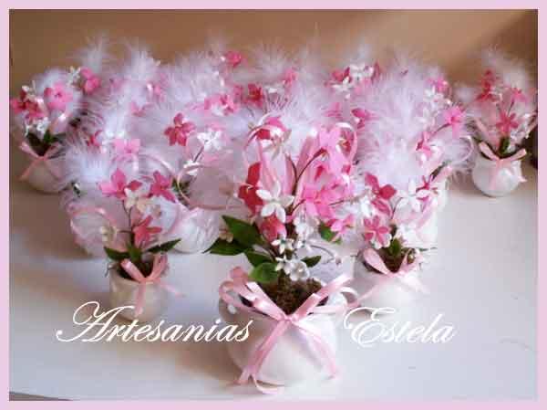 Souvenirs De 15 Años Con Flores   Souvenirs De 15 Años