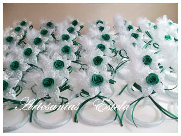 Souvenirs De 15 Años Flores De Vidrio   Souvenirs De 15 Años