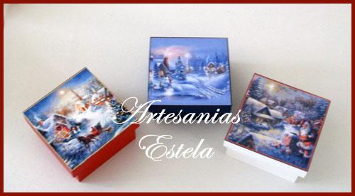 Cajas Para Bombones Navidad 10   Cajas Para Bombones Navidad
