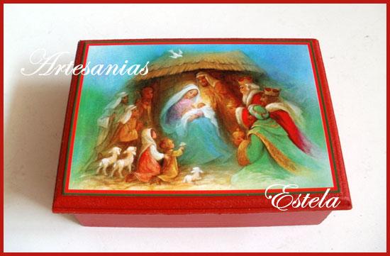 Cajas Para Bombones Navidad