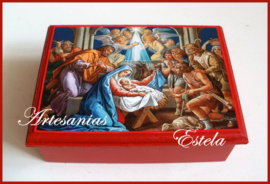 Cajas Para Bombones Navidad 3   Cajas Para Bombones Navidad