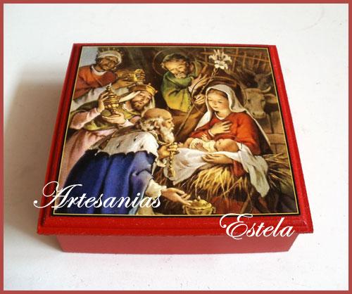 Cajas Para Bombones Navidad 6   Cajas Para Bombones Navidad