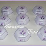 Souvenirs Cumpleaños Cajas De Ceramica Exagonales 150x150   Souvenirs 50 Años
