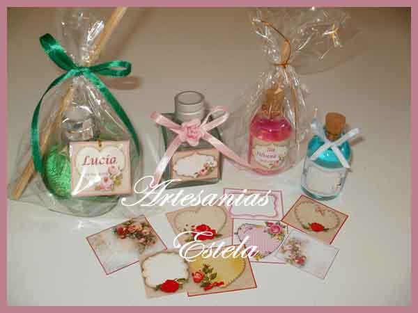 Souvenirs-50 Años Difusores Aromaticos Personalizados