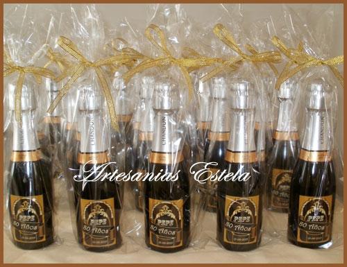 Botellitas de Champagne personalizadas   Botellitas De Champagne Personalizadas