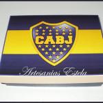 Regalos - Cajas De Madera Futbol
