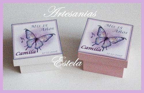 Cajitas Con Mariposas