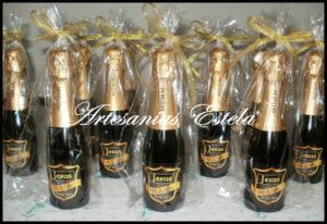 Botellitas De Champagne Personalizadas