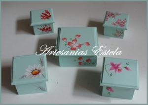 Souvenir de 15 Años - Cajitas De Madera