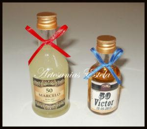 Botellitas De Licor Personalizadas