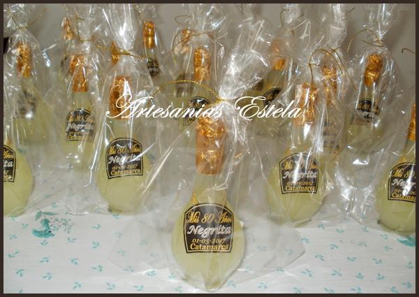 Souvenir Botellitas De Licor Personalizadas