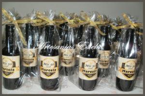 Souvenir: Botellitas De Vino Personalizadas