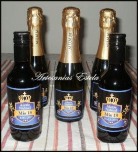 Botellitas De Vino Personalizadas 10 272x300   Botellitas De Vino Personalizadas   Modelos 2017