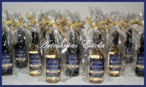 Botellitas De Vino Personalizadas 3 300x179   Botellitas De Vino Personalizadas   Modelos 2017