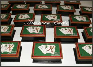 Souvenir Cajas Para Naipes Personalizadas