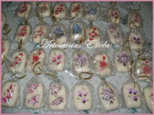 Jabones Pintados Mano 3 300x225   Jabones Pintados A Mano   Souvenir/Regalos