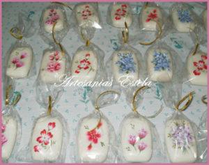 Jabones Pintados Mano 5 300x237   Jabones Pintados A Mano   Souvenir/Regalos